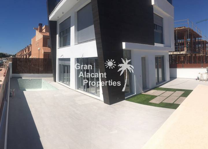 Detached Villa - New Build - Gran Alacant - Monte y Mar