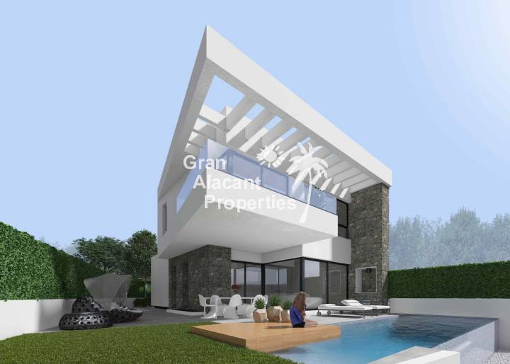 Detached Villa - New Build - Rojales - Skyline