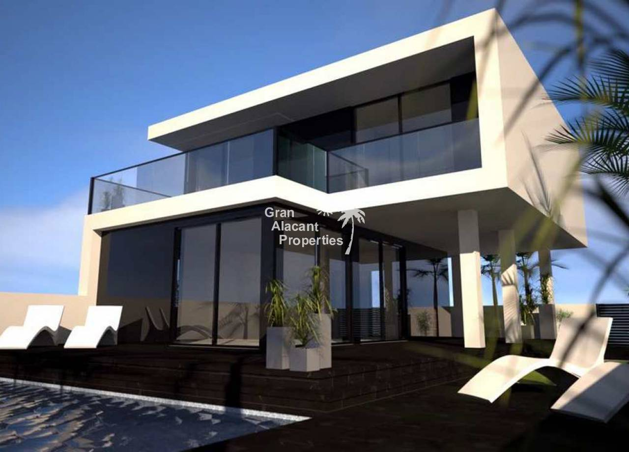 New Build - Detached Villa - Gran Alacant - Monte y Mar