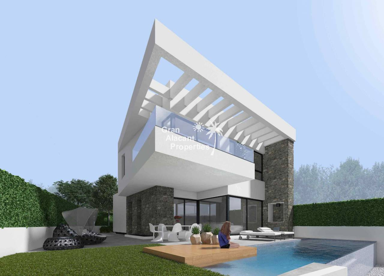 REF 10050 New build luxury villas with pool and garage in Rojales
