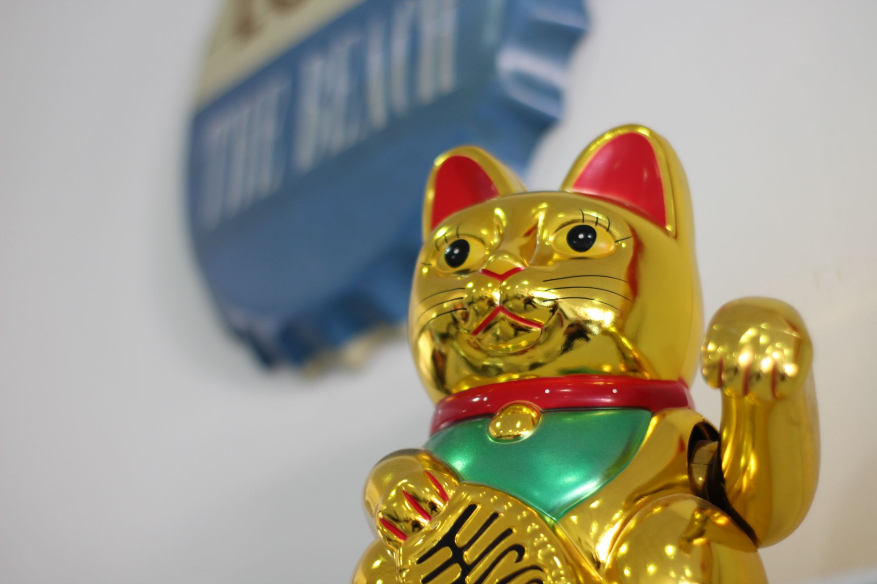 Gran Alacant Properties Maneki Neko lucky cat